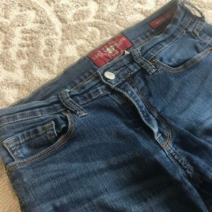 Lucky jeans size four, straight leg